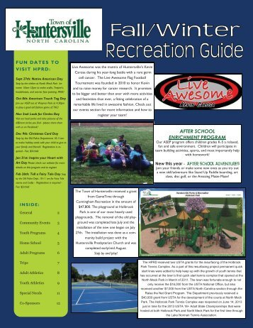 download the Rec Guide! 2013 FWRG.pdf - Huntersville