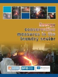 Energy conservation measures in the Foundry sector - msme mentor