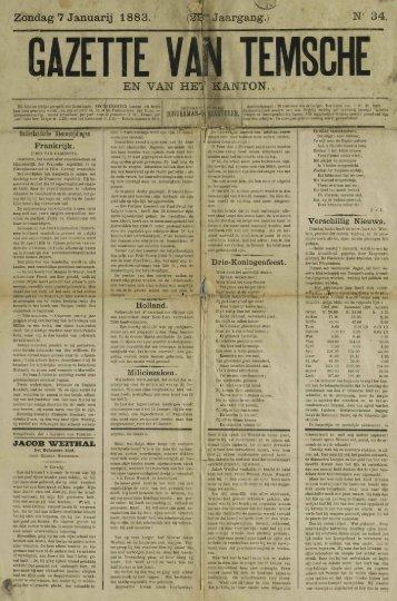 gazette van temsche