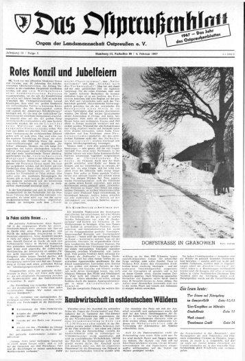 das politische buch - Archiv Preussische Allgemeine Zeitung