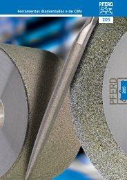 Catálogo 205 - Ferramentas diamantadas e de CBN - PFERD