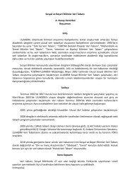 Sosyal ve Beşeri Bilimler Veri Tabanı A. Nuray Demirkol Başuzman ...