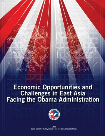 Economic Opportunities and Challenges in East Asia Facing the ...