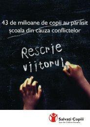 Rescrie viitorul! - Salvati Copiii