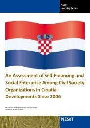 Croatia Country Assessment 2012 - NESsT