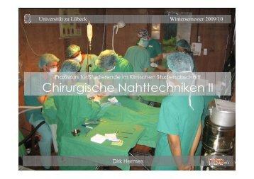 pdf Nahtkurs Fortgeschrittene WS 2009/10 - mkg bad schwartau