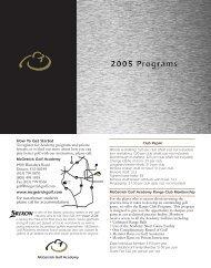 How To Get Started www.mcgetrickgolf.com - GolfLink