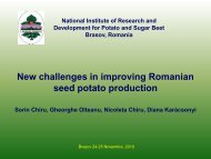 limits and new approach in improving seed potato production in ...