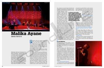 Malika Ayane - Sound&Lite;