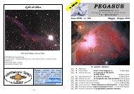 PEGASUS - Gruppo Astrofili Forlivesi