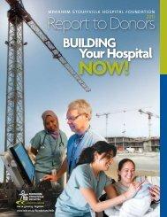 building - Markham Stouffville  Hospital