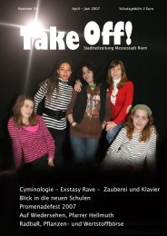 Take Off! - Kulturzentrum Messestadt