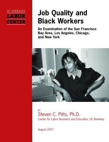 Job Quality and Black Workers - Socialist Viewpoint