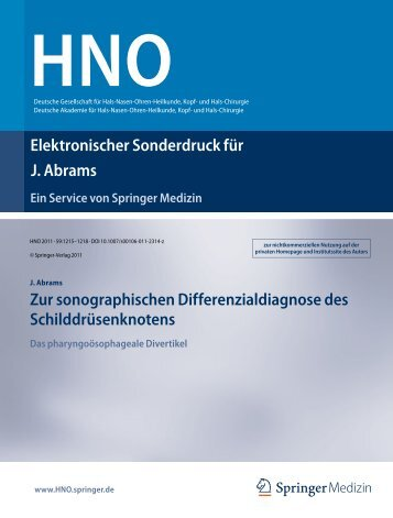 HNO - St. Barbara-Klinik Hamm-Heessen GmbH