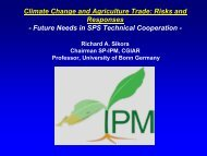 Climate Change and Agriculture Trade - Standards and Trade ...