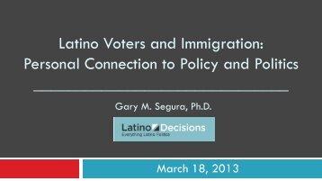 Webinar slides found here - Latino Decisions