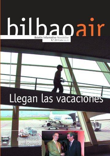 Llegan las vacaciones Llegan las vacaciones - Bilbao Air