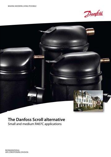 The Danfoss Scroll alternative