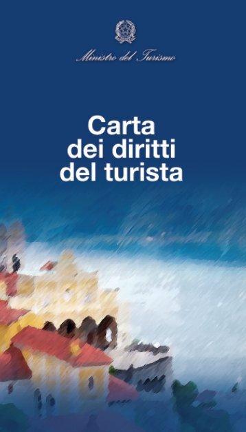 Carta dei diritti del turista - Governo Italiano