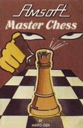 Master Chess - Manuel (Français)
