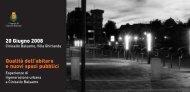 Convegno 'Qualità dell'abitare e nuovi spazi pubblici', volantino