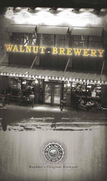 Starters - Walnut Brewery