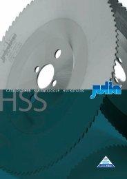 Catalogo HSS · HSS CatalogUE · HSS katalog