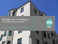 Bostäder som investering - vad är affärsmässig avkastning?