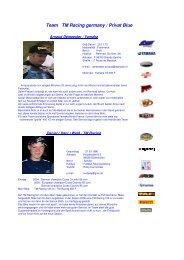 Team TM Racing germany / Privat Blue