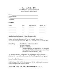 Toys for Tots Request Form