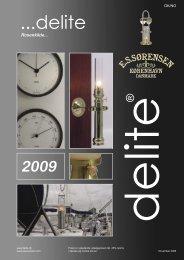 Delite 2009 katalog
