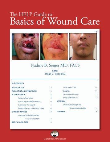 Basics Of Wound Care - Global HELP