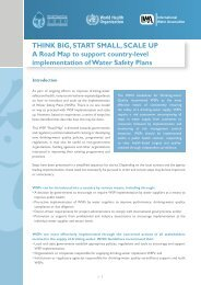 THINK BIG, START SMALL, SCALE UP A Road Map to ... - IWA