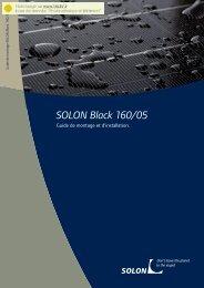 SOLON Black 160/05 - TALEV