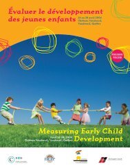 Programme - Centre of Excellence for Early Childhood Development