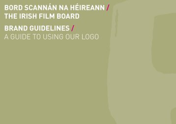 Guidelines for Appropriate Use of Logo - Irish Film Board