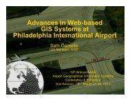 Advances in Web-based GIS Systems at Philadelphia International ...