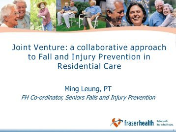 Joint Venture - The Centre for Hip Health and Mobility