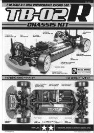 Tamiya TB-02R Manual - Wheelsacademy.info