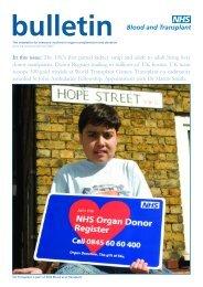 Issue 64 Autumn/Winter 2007 - Organ Donation