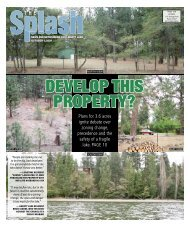 download a PDF of the 10/1 issue of The Splash - The Liberty Lake ...