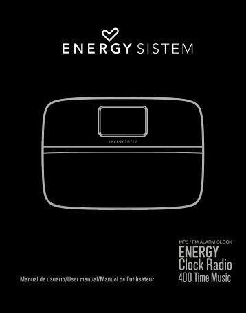 Clock Radio - Energy Sistem