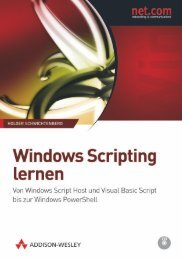 Windows Scripting lernen - *ISBN 978-3-9273 ...