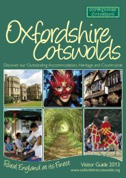 Download our visitor guide - Oxfordshire Cotswolds