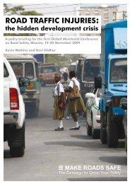Download Road Traffic Injuries - Make Roads Safe