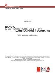 Nancy : « A la recherche du futur dans la forêt lorraine - Mission d ...