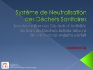 Système de Neutralisation des Déchets Médicaux - FISSORE Agency