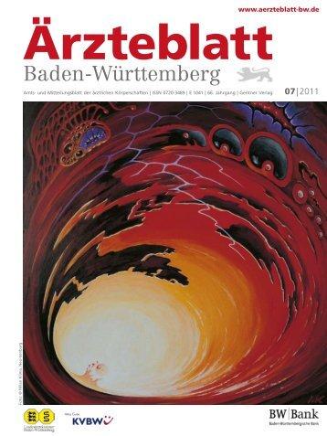 Ärzteblatt Baden-Württemberg 07-2011 [PDF] - Landesärztekammer ...