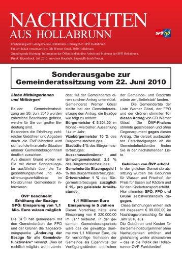 aus hollabruNN - SPÖ