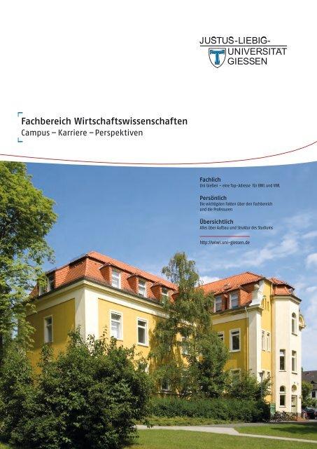 Fachbereich Wirtschaftswissenschaften - WiWi-Alumni - Justus ...
